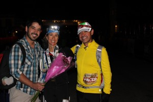 A family affair: Leadville 2013, with my husband David and stepson Bobby