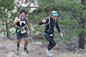 Allen and I at mile 60 of the 2012 Leadville 100.